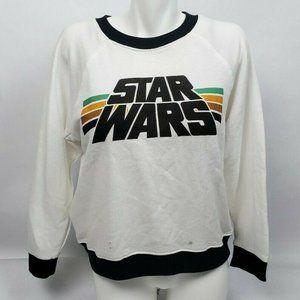 Star Wars Long Sleeve Sweater Sweatshirt Logo